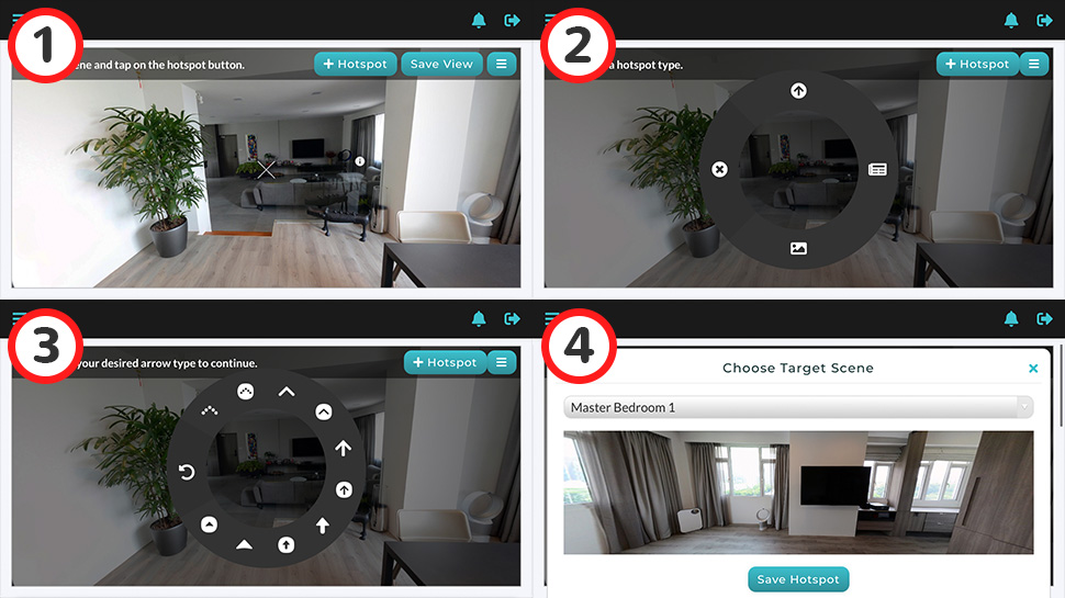 Creating a 360 virtual tour in 5 minutes